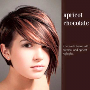hair style inspired by apricot